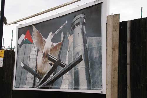 43. Nakba 60, KennardPhillipps,billboard in Kensal Rise London 2008