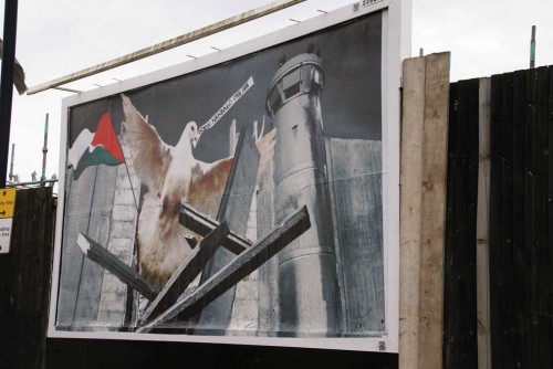 Nakba 60 billboard by kennardphillipps on Kilburn Highroad