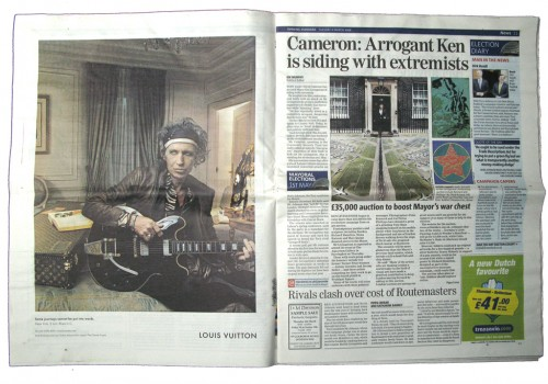 EVENING STANDARD TUESDAY 4 MARCH 2008