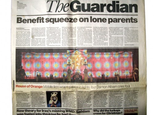 the Guardian Wednesday December 24 2003